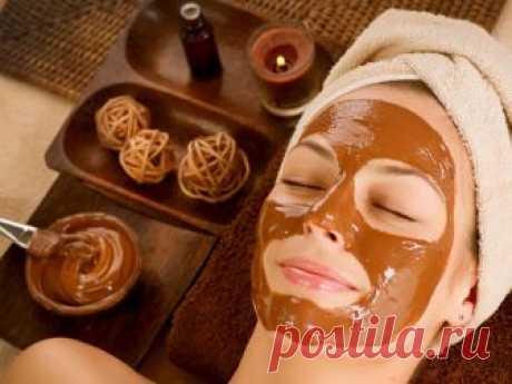 Глиняно-шоколадная маска