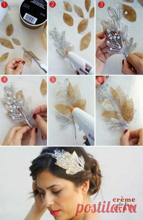 14 DIY Hair Accessories with Tutorials - Fashion Beauty News