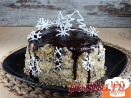 Торт Снежинка - пошаговый рецепт с фото. Как приготовить.