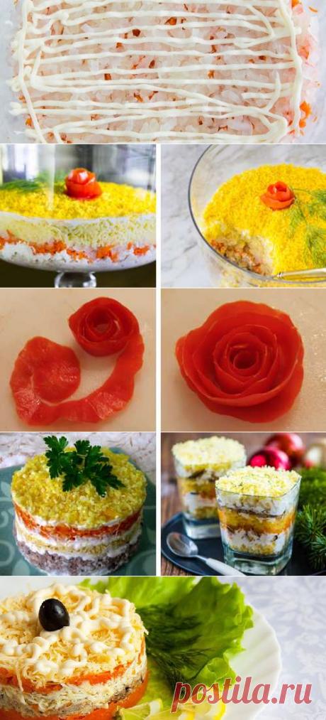 Салат «Мимоза» классический рецепт с консервой — пошаговый рецепт с фото
