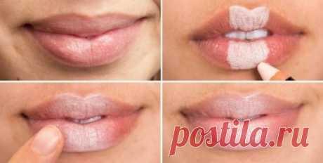Помада - Как правильно наносить макияж. 10 практичный советов