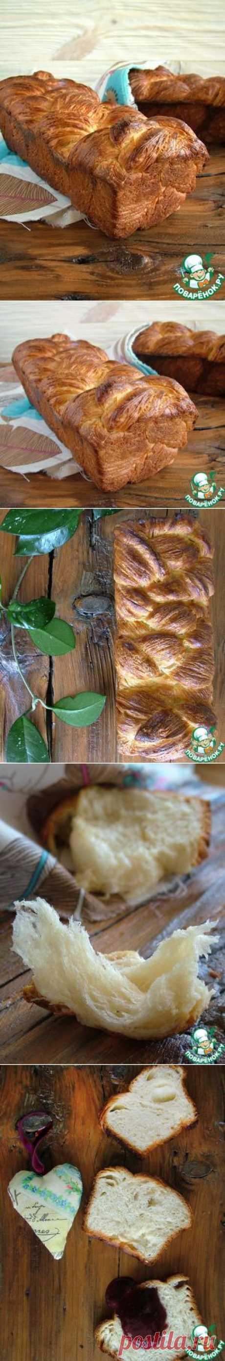 Азиатский слоеный хлеб - кулинарный рецепт