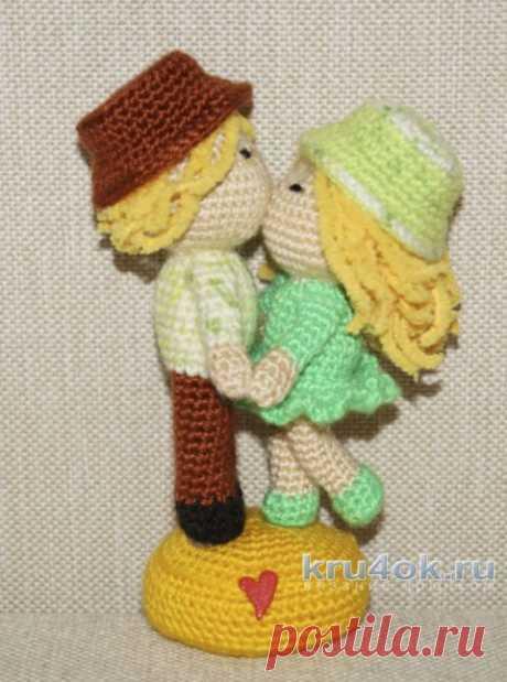 Влюбленная парочка кукол. МК от Юлии Конончук, Вязаные игрушки