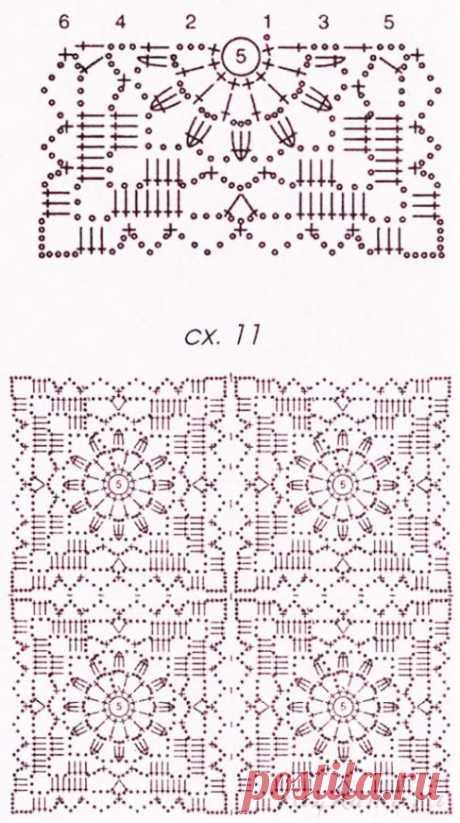 Жакет с завышенной талией крючком «Королева ажура» на пуговицах – описание вязания со схемами