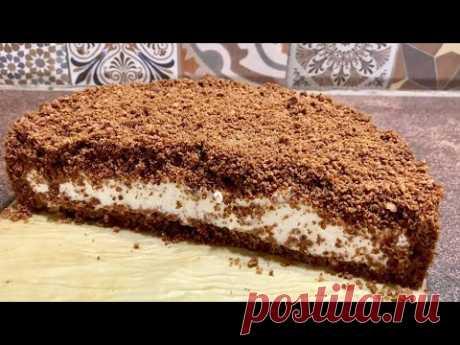 Шоколадова торта без фурна и за нула време - невероятно вкусна ! / Торт шоколадный без выпечки