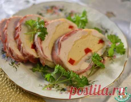 Пасхальный куриный рулет – кулинарный рецепт