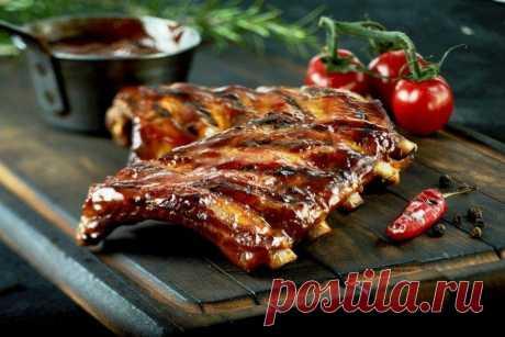 Свиные ребрышки на мангале - 10 простых и вкусных рецептов