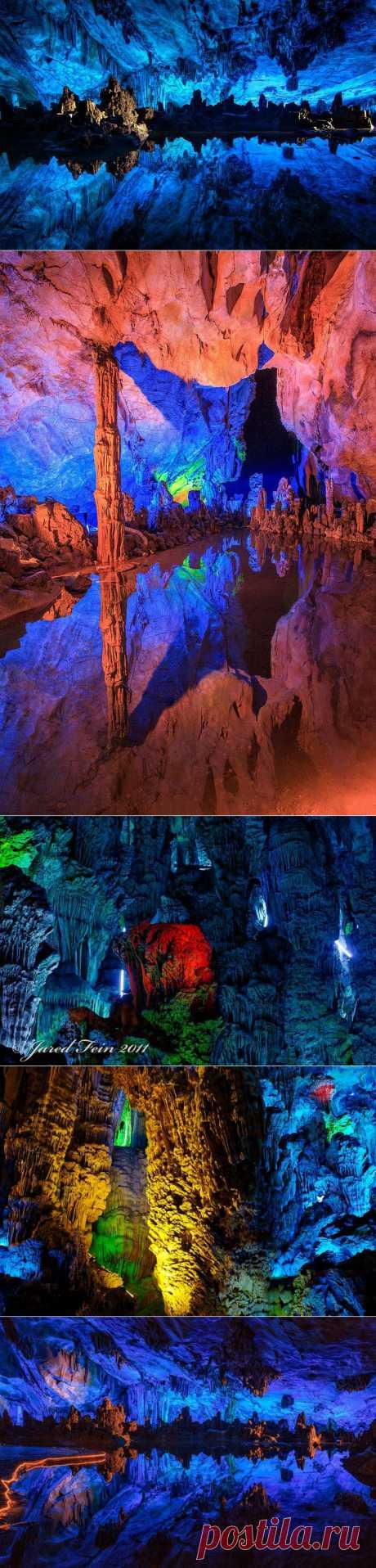 >> Пещера Тростниковой Флейты в Китае | ФОТО НОВОСТИ