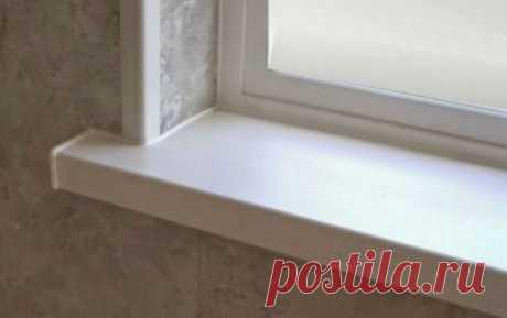 Пластиковые окна и подоконники: наводим чистоту и порядок