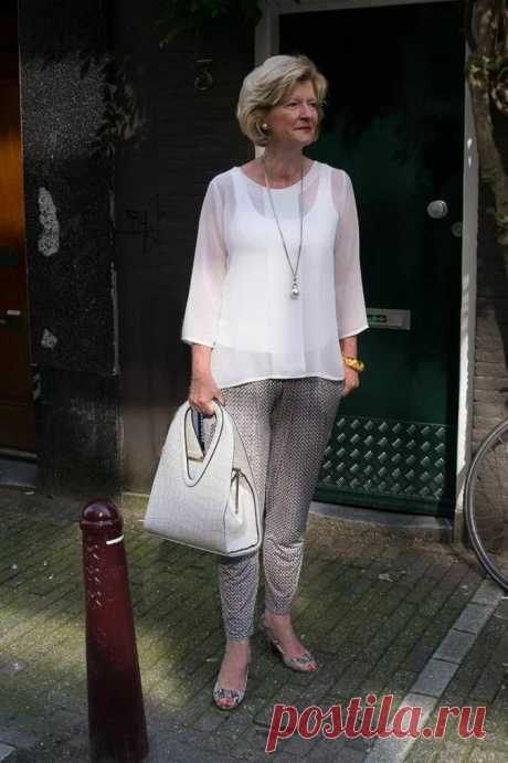 Простой и элегантный Французский стиль в одежде для дам 50+. Фото стильных образов | Эликсир молодости | Яндекс Дзен