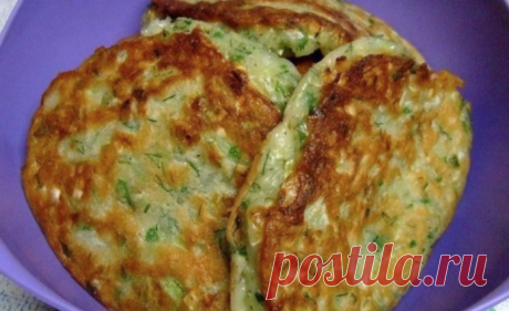 Kapustyanushki: Cabbage fritters, as at the aunt in Minsk