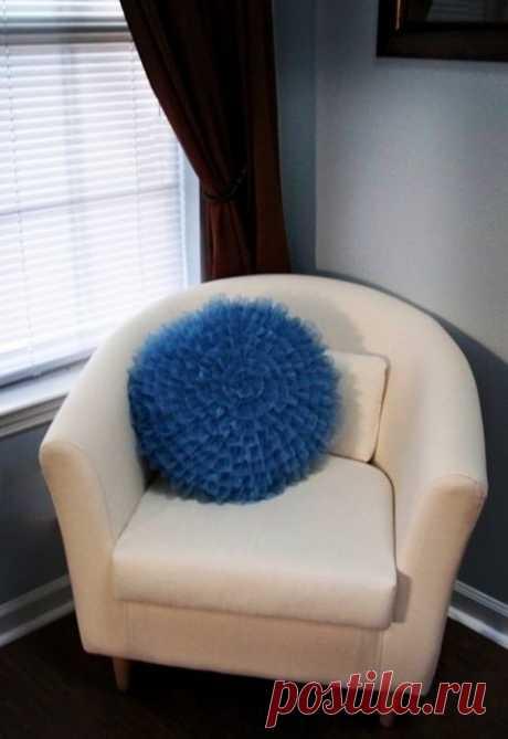 Красивая подушка — Сделай сам, идеи для творчества - DIY Ideas
