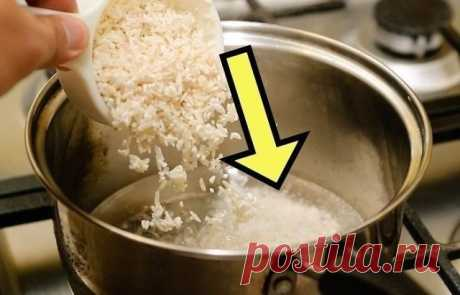 97 % людей варят рис неправильно! В том числе опытные повара не знают, как удалить мышьяк из любого риса. - Народные советы