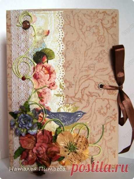 """Блокнот """"Весна"""" или книга для записей.   Страна Мастеров"""