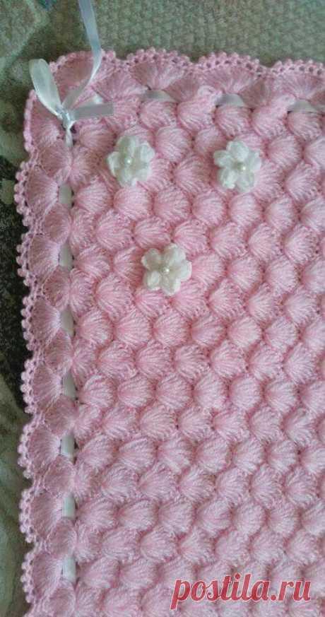 Mantas para bebés: mercado artesanal, tejido de punto