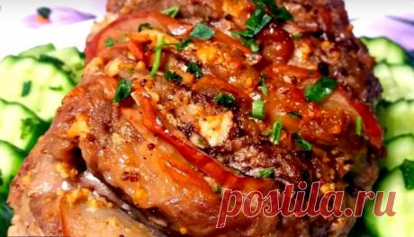 Пять мясных блюд: для украшения праздничного стола