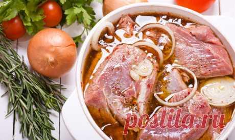 Подборка маринадов для запекания мяса Мясо получается сочным и очень ароматным, да ещё и с красивой корочкой. Воспользуйтесь ими- не пожалеете.
