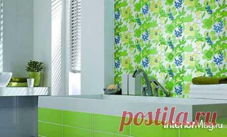 Кафель в ванной, кафельная плитка - дизайн интерьера ванной комнаты | ИнтерьерМаг.ру
