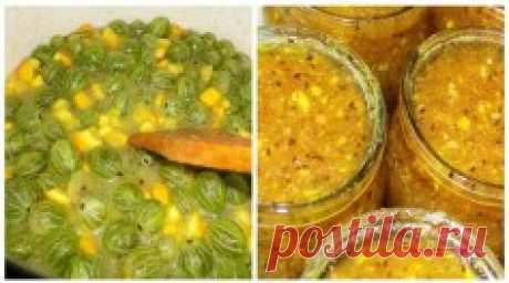 Варенье из крыжовника с апельсином - лучший сайт кулинарии