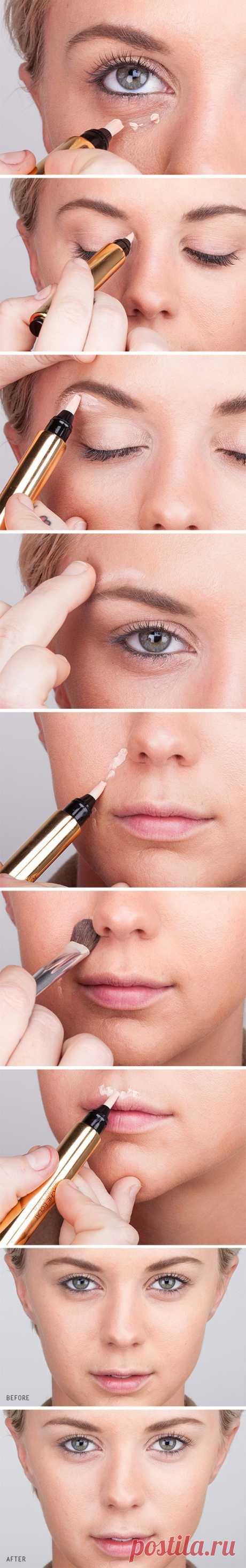 Как скрыть недостатки кожи с помощью консилера? Должна знать каждая!