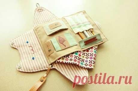 Sewing Organizer Bag Tutorial ~