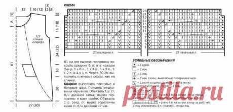 TNGzuu9F5xg.jpg (698×337)   продолжение описания кофточки  сиреневой