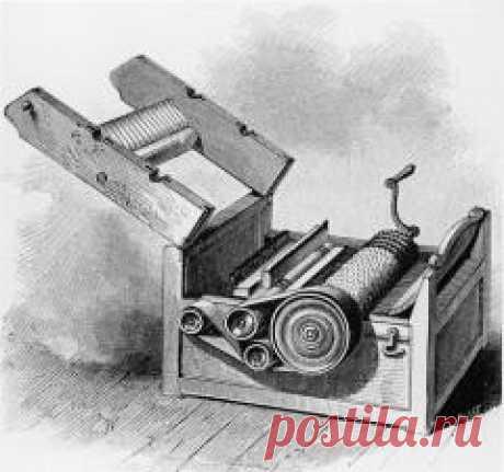 Сегодня 14 марта в 1794 году Американец Эли Уитни получил патент на машину для очистки хлопкового волокна