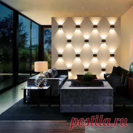 Уличный настенный светодиодный светильник черный Elektrostandard 1555 Techno LED Twinky