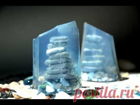 Мыло Пирамида из Гальки #Безспецформ. Мыловарение. Мыло своими руками.