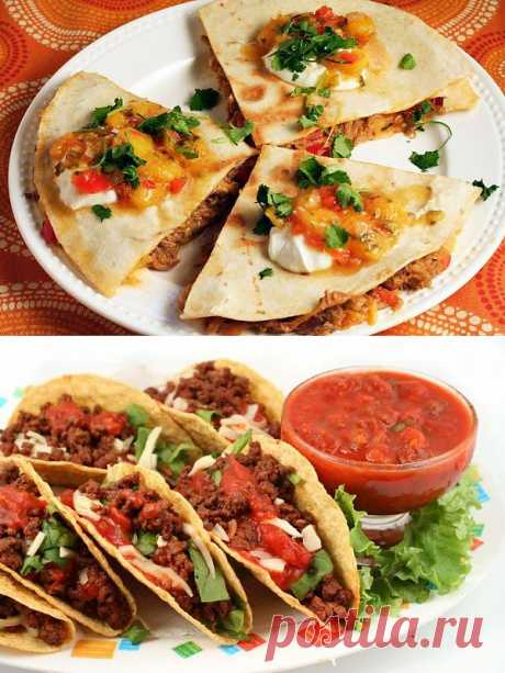 Лучшие блюда мексиканской уличной кухни.