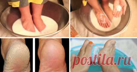 Хватит тратить деньги на педикюр: эти 2 простых продукта сделают твои ножки идеальными! Спасительная процедура!