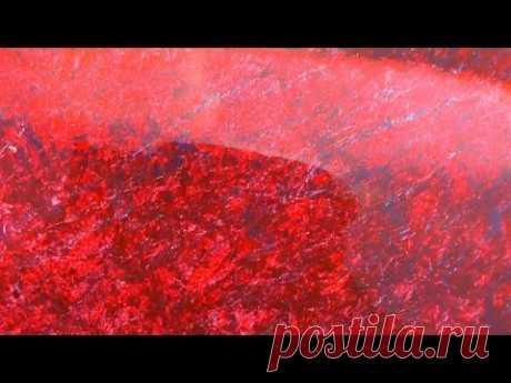 Как покрасить эффект камня(Рваная плоть) Смотреть у.п. №200