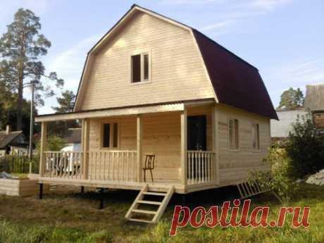 5 материалов для постройки дачного дома: плюсы и минусы
