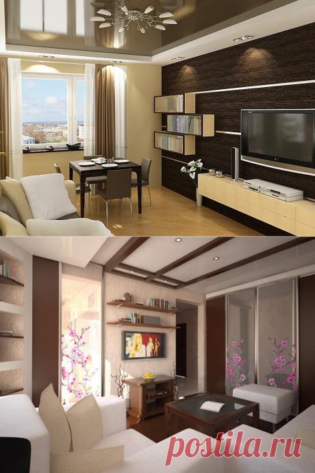 Правила дизайна маленькой гостиной
