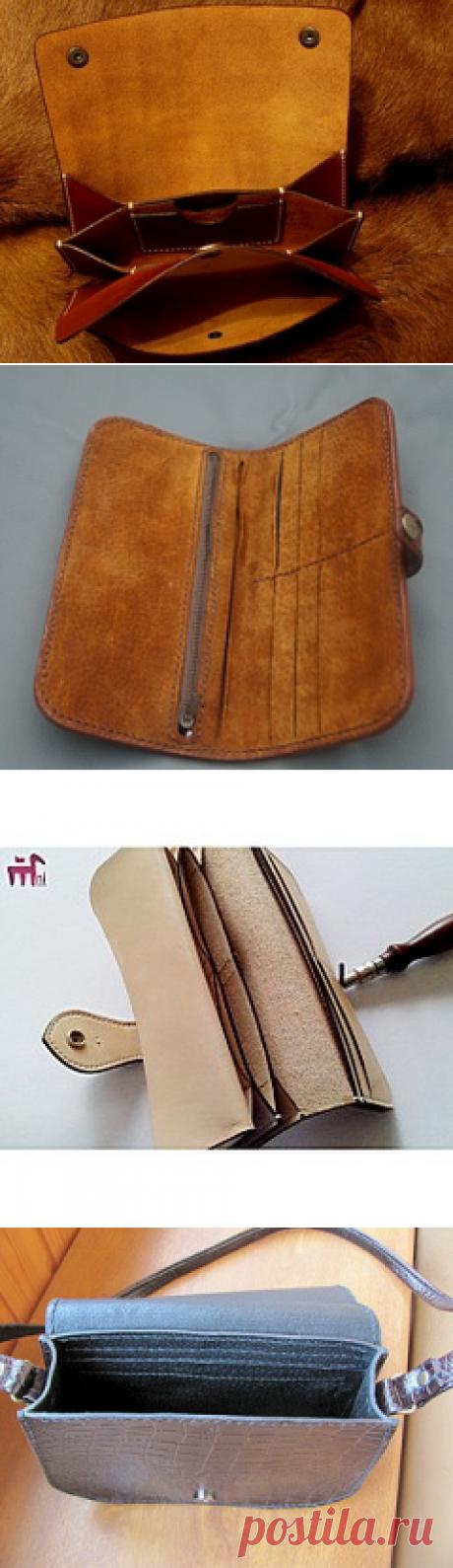 Выкройки-лекала для сумок, портмоне, кошельков - Guns.ru Talks