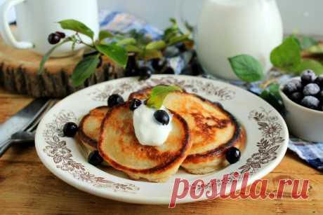 Оладьи на кефире без яиц пышные рецепт с фото пошагово и видео - 1000.menu