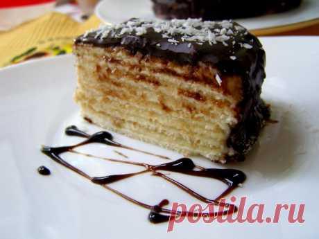 Торт сметанник на сковороде рецепт с фото пошагово - 1000.menu