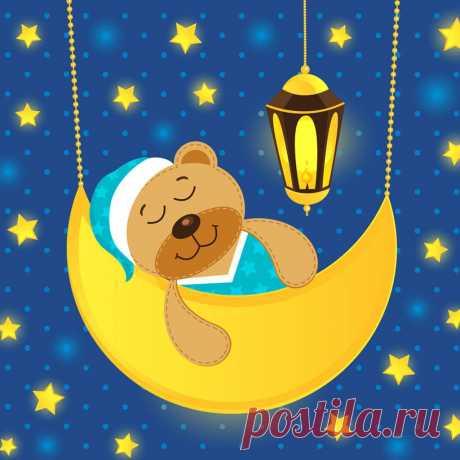 Иллюстрация к сборнику медитативных стихотворений под которые обожают засыпать маленькие слушатели каждый день.