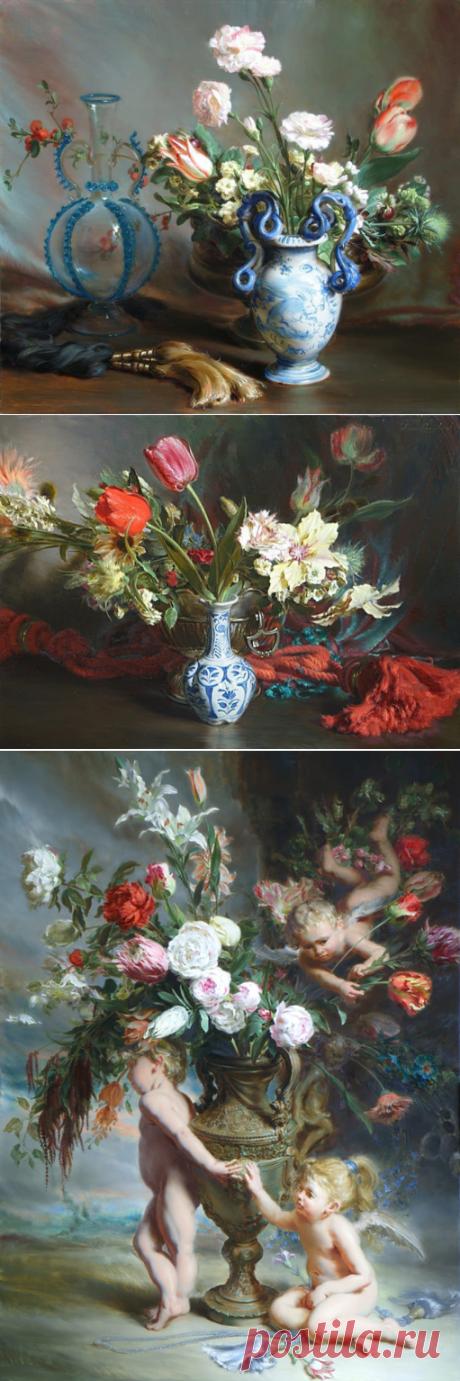 Изысканные композиции художника Hans Laagland