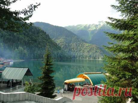 Озеро Рицца. Красота неописуемая!!!