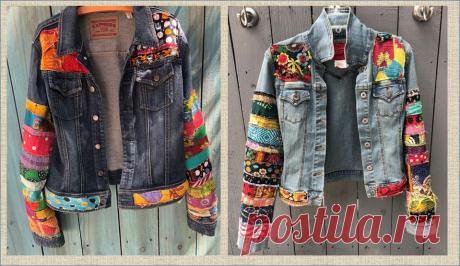 Хочешь переделать джинсовую одежду? Просто добавь побольше цветных заплаток   МНЕ ИНТЕРЕСНО   Яндекс Дзен