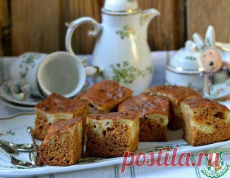 Морковно-яблочный пирог – кулинарный рецепт
