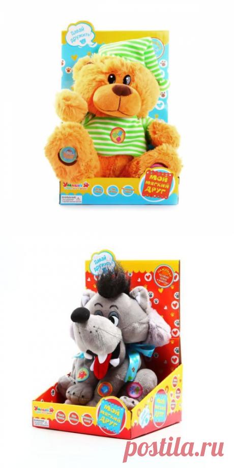 Идеи для новогодних подарков детям. Купить Мягкая игрушка Zhorya Мишка в майке колпачке в интернет-магазине с доставкой по России
