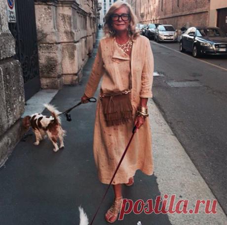 Стиль вне возраста —  чему стоит поучиться у 66-летней Роселлы Джардини | Люблю Себя