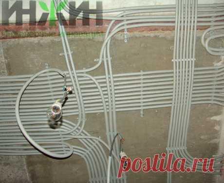 Монтаж электропроводки в кирпичном доме 473