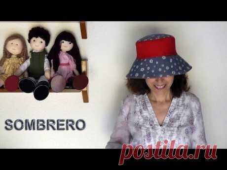 Cómo hacer un sombrero de tela para mujer