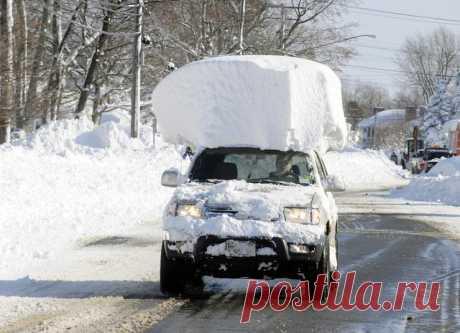Чего нельзя делать с машиной зимой - Лайфхак - АвтоВзгляд