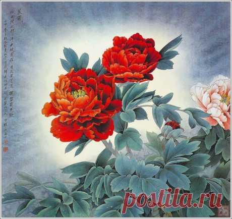 Китайский художник Zhou Zhongyao