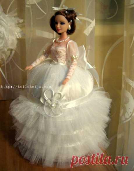 Кукла-шкатулка своими руками. Мастер-класс Юлии Стефанюк.