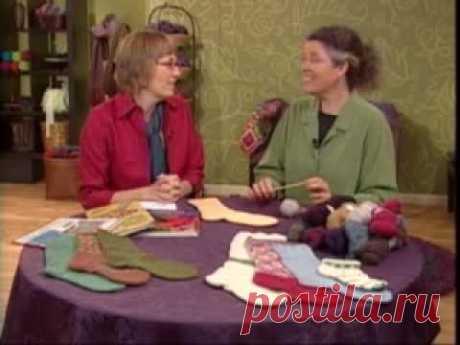 Набор петель для вязания носков (болгарский зачин)